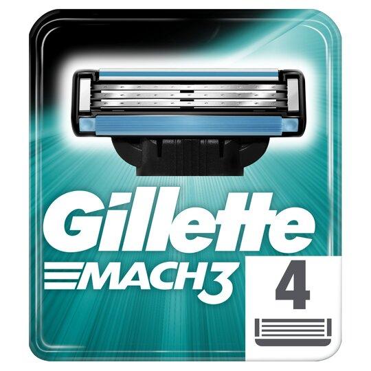 image 1 of Gillette Mach 3 Blades 4S