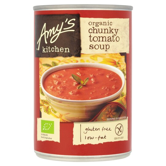 Amy's Kitchen Gluten Free Chunky Tomato Soup 400G
