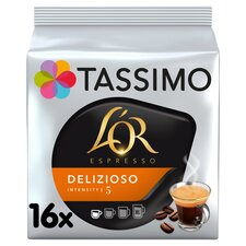 image 1 of Tassimo L'or. Espresso Delizioso 16 Coffee Pods