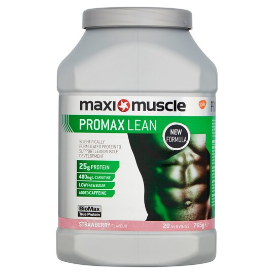 Maximuscle Promax Lean Powder Strawberry 765G