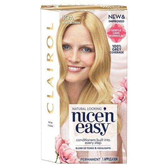 Clairol Nice 'N Easy Baby Blonde 10A Hair Dye