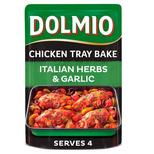 Dolmio Chicken Tray Bake Italian Garlic & Herb 150G