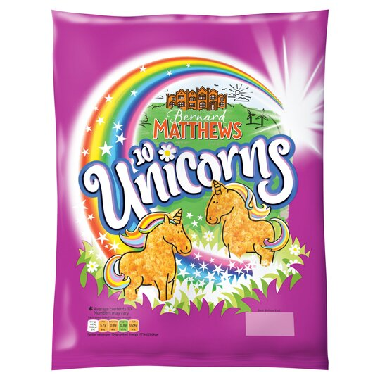 Bernard Matthews Turkey Unicorns 420G