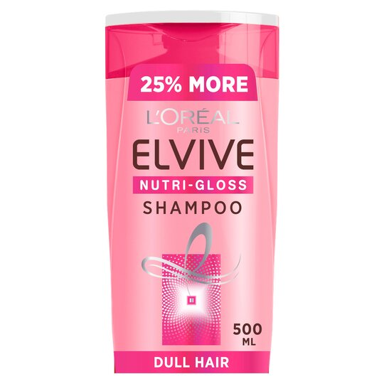 L'oreal Elvive Nutri-Gloss Shine Hair Shampoo 500Ml