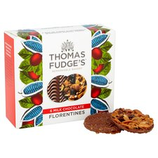 image 2 of Thomas J Fudge Belgian Chocolate Florentine 140G