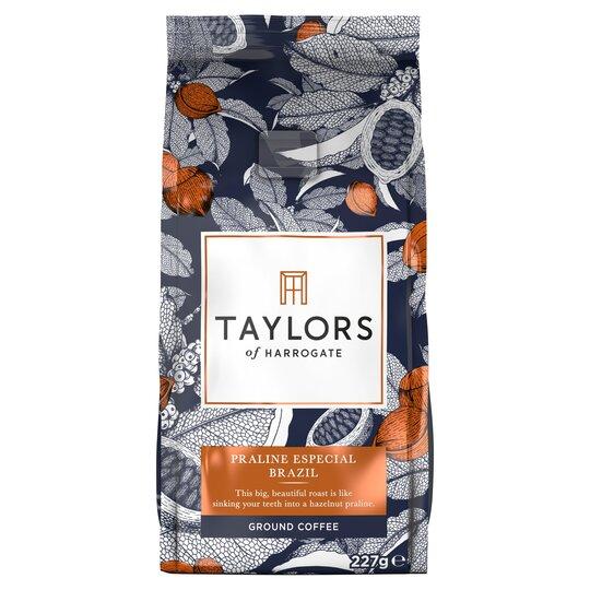 Taylors Praline Brazil Ground Coffee 227G
