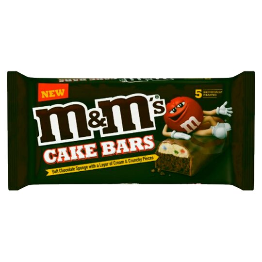 M&M's Cake Bars 5 Pack