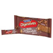 image 2 of Mcvities Digestive Chocolate Slices 5 Pack 128.6G