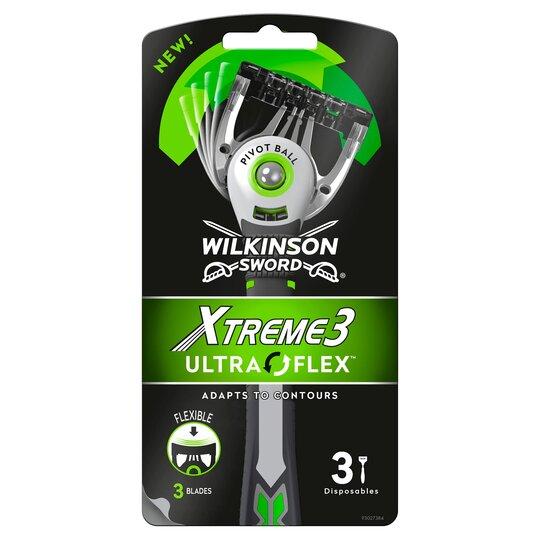 Wilkinson Sword Xtreme 3 Ultra Flex Razor 3 Pack