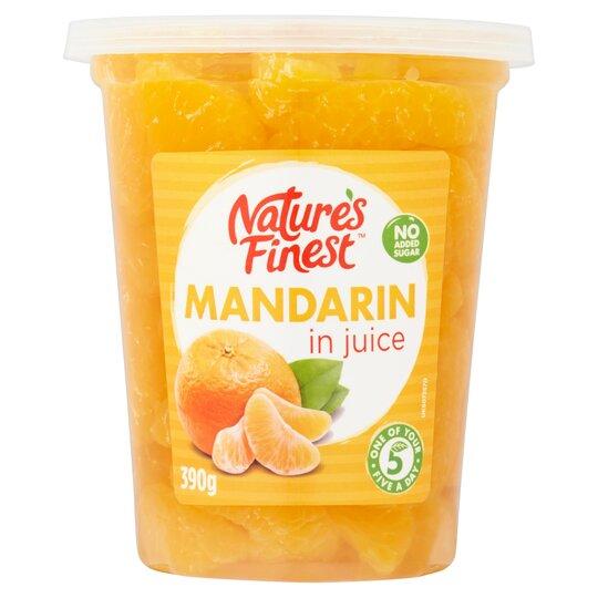 Nature's Finest Mandarin In Juice 390G