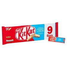 image 2 of Kit Kat 2 Finger Cookies & Cream Biscuit 9X20.7G