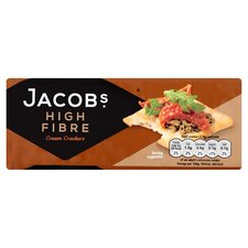 image 1 of Jacobs High Fibre Cream Crackers 200G