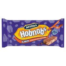 image 1 of Mcvities Hobnobs Chocolate Slices 5 Pack 128.6G