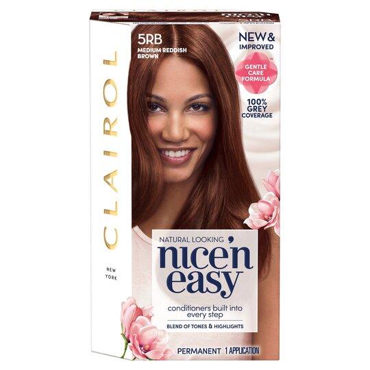 Nice'N Easy Permanent Colour #5Rb Natural Medium Reddish Brown (Former Shade #118C)