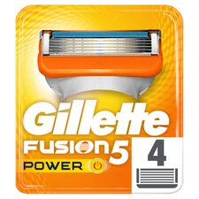 image 1 of Gillette Fusion Power Razor Blades Refill 4 Pack