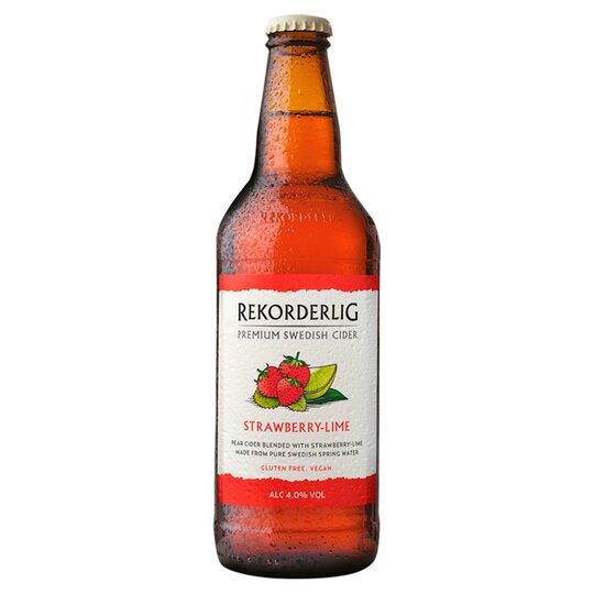 Rekorderlig Strawberry Lime Cider 500ml