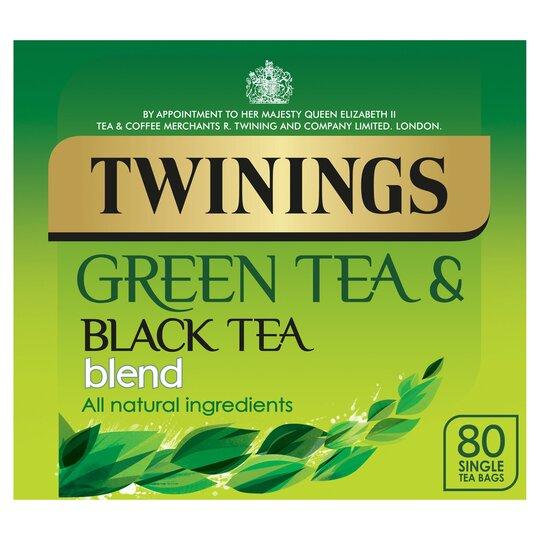 Twinings Green Tea Blend Teabag 80'S 250G