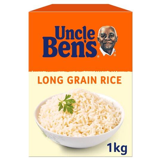 Uncle Bens Long Grain Rice 1Kg