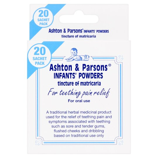 Ashton & Parsons Teething Relief 130Mg X20