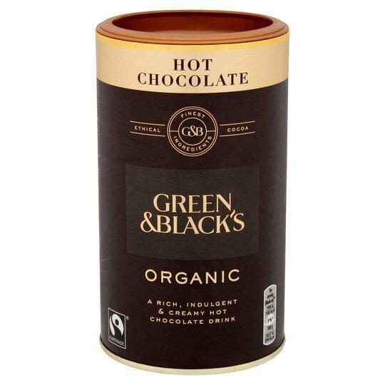 Green And Blacks Organic Hot Chocolate 300G