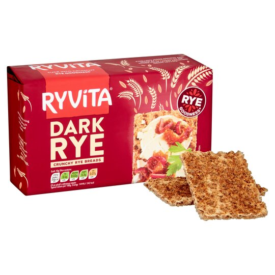 image 1 of Ryvita Dark Rye Crisp Bread 250G