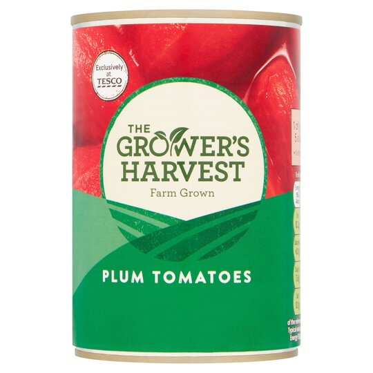 Grower's Harvest Plum Tomatoes 400G