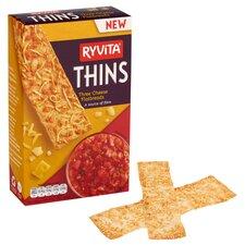 image 1 of Ryvita 3 Cheese Thins 125G