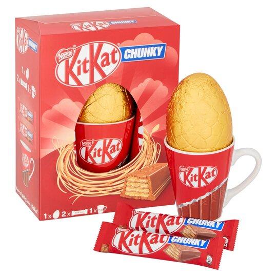image 1 of Kit Kat Chunky Easter Egg & Mug 180G