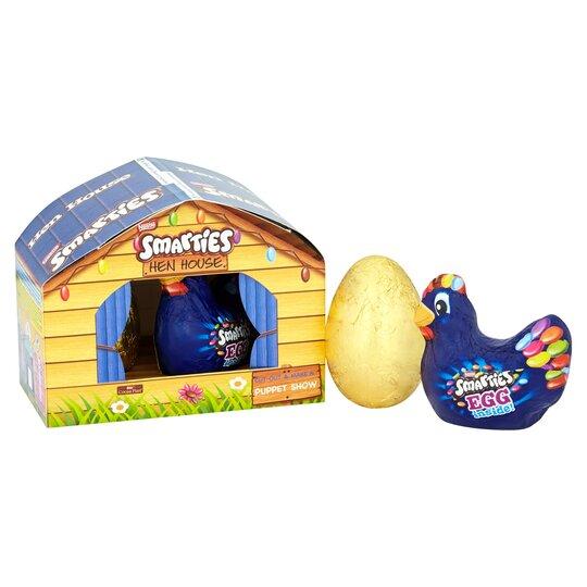 image 1 of Nestle Smarties Milk Chocolate Easter Egg Farmyard 167.5G