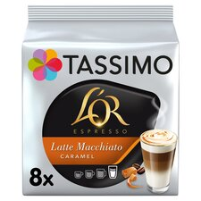 image 1 of Tassimo L'or. Latte Caramel 8 Coffee Pods