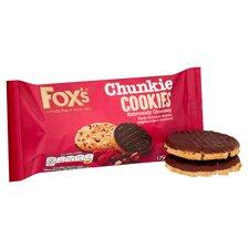 image 2 of Fox's Dark Chocolate Raspberry And Hazelnut Cookies 175G