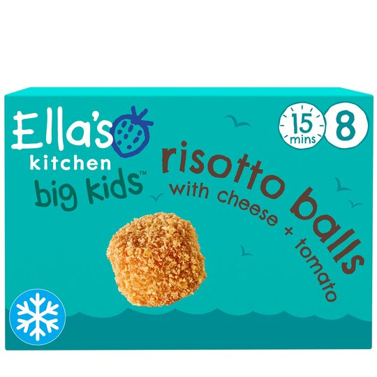 Ella's Kitchen Risotto Balls With Cheese & Tomato 8Pk 200G