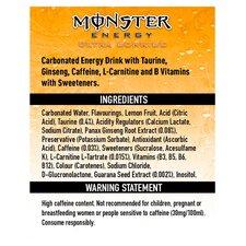 image 2 of Monster Energy Ultra Sunrise 500Ml