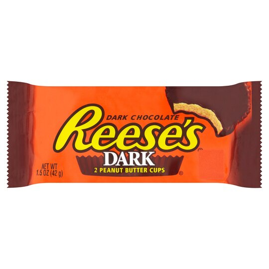 Reeses Dark Peanut Butter Cups 2S 42G