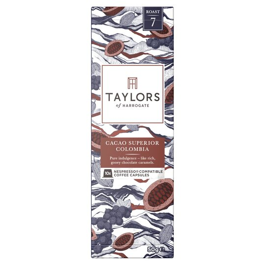 Taylors 10 Colombia Coffee Capsules 50G