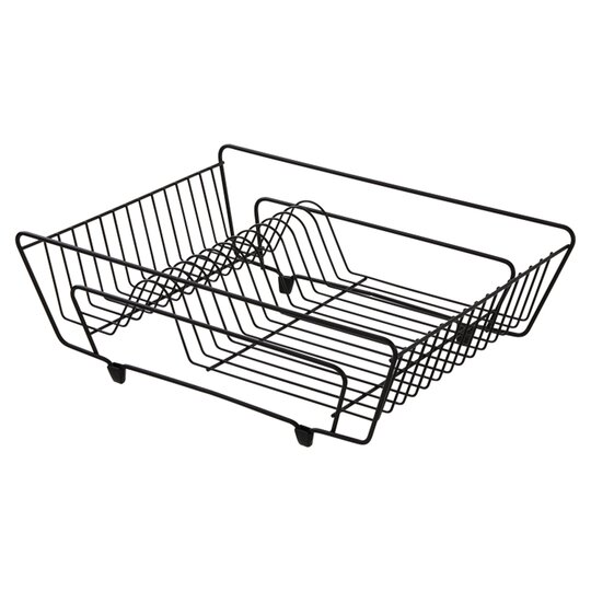 a2f516dfd6f6 Tesco Wire Dish Drainer Black - Tesco Groceries