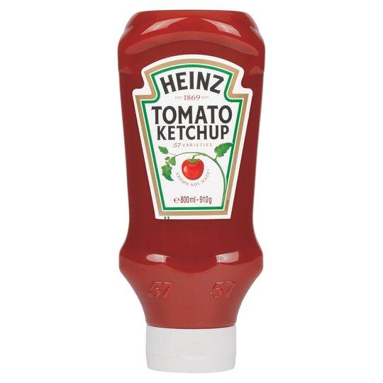 Heinz Top Down Tomato Ketchup 910G