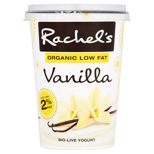 Rachel's Organic Low Fat Vanilla Yogurt 450G