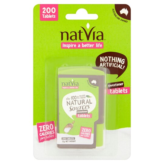Natvia Natural Sweetener 200 Tablets