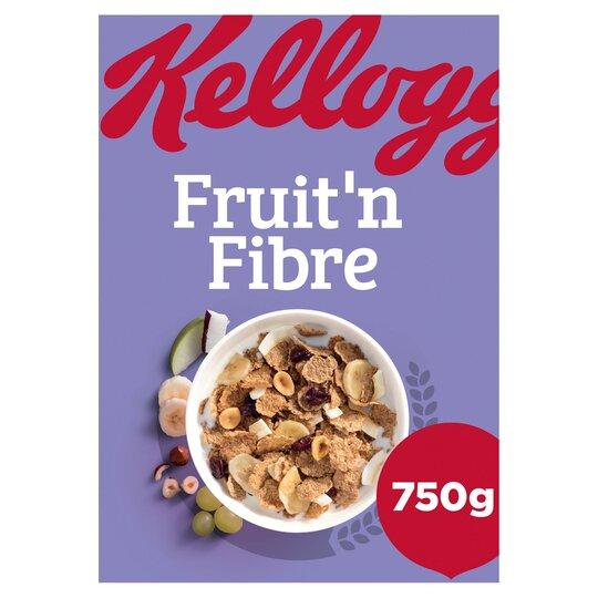 Kellogg's Fruit 'N' Fibre Cereal 750G