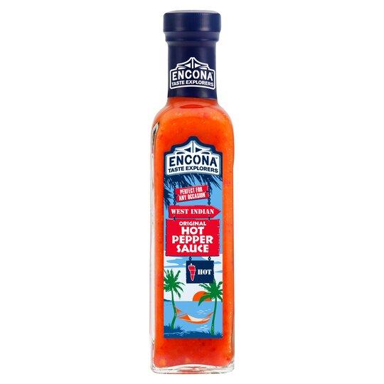 Image result for encona hot pepper sauce
