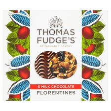 image 1 of Thomas J Fudge Belgian Chocolate Florentine 140G
