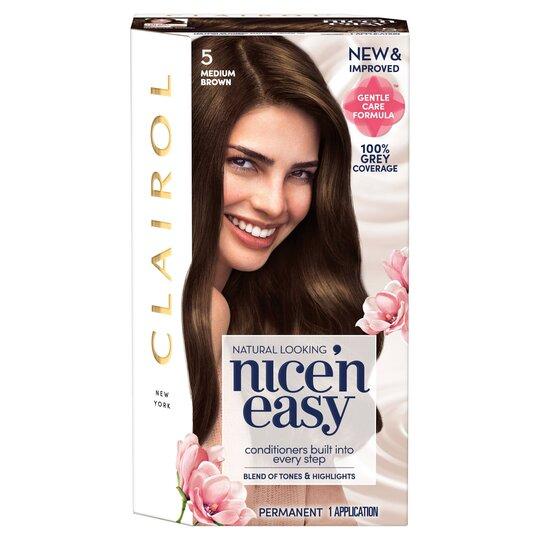 Clairol Nice 'N Easy Medium Brown 5 Hair Dye