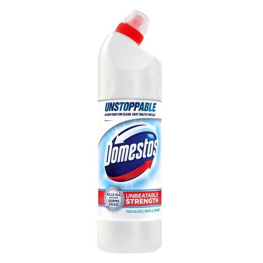 Domestos Ultra White & Sparkle Bleach 750Ml