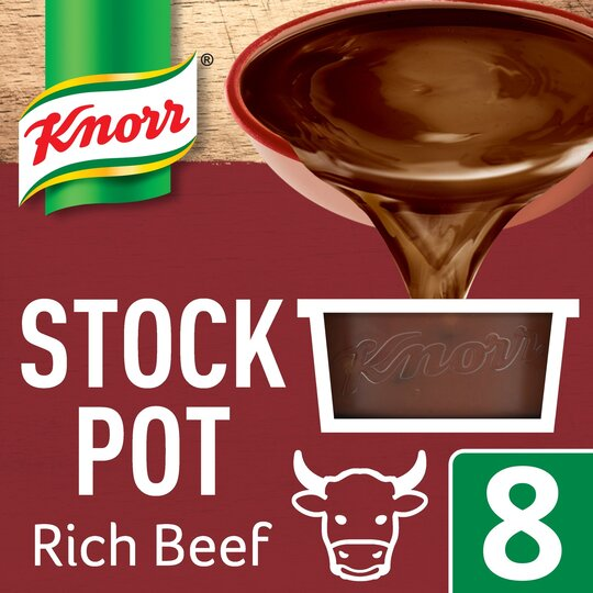 Knorr Rich Beef Stock Pot 8'S 224G