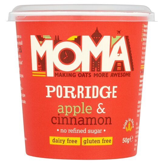 Moma Porridge Apple & Cinnamon 50G