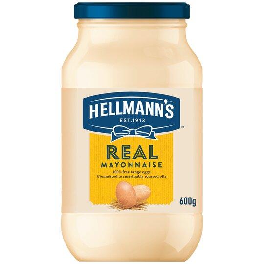 Hellmann's Real Mayonnaise 600G Jar