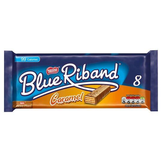 Blue Riband Caramel 8X20g