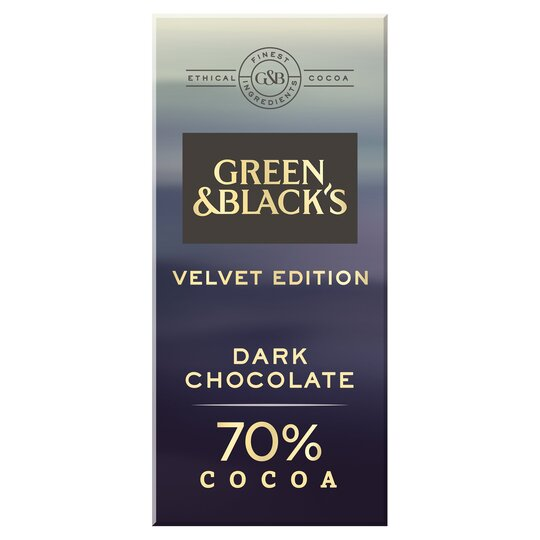Green & Black's Dark Chocolate 70% 90G
