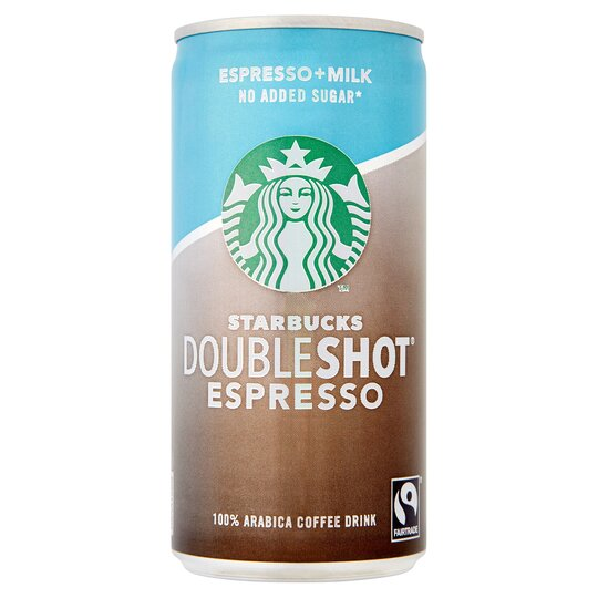 Starbucks Doubleshot Coffee Drink No Added Sugar 200ml